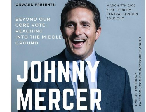 Beyond the Core Vote: Speech by Johnny Mercer MP to Onward