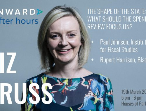 The shape of the State: Speech by Rt Hon Liz Truss MP to Onward