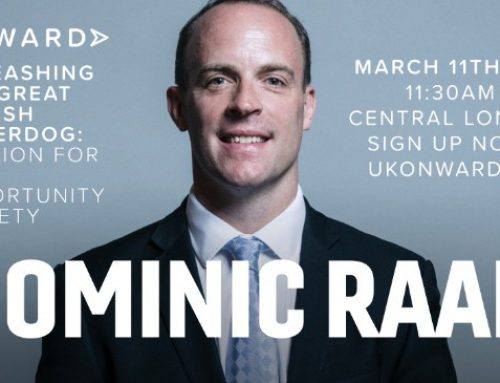Unleashing the Great British Underdog: Speech by Rt Hon Dominic Raab MP to Onward