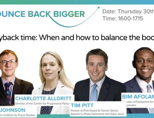 Payback time: When and how to balance the books?