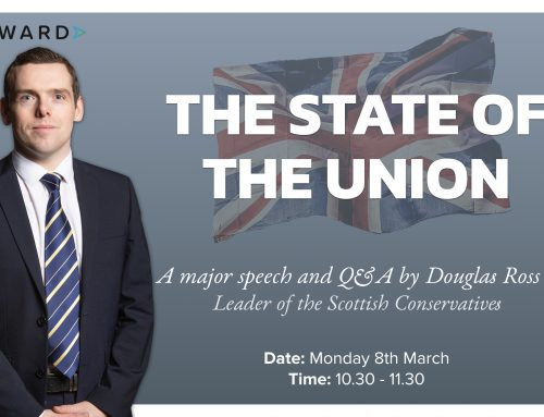 The State of the Union: A major policy speech by Douglas Ross MP