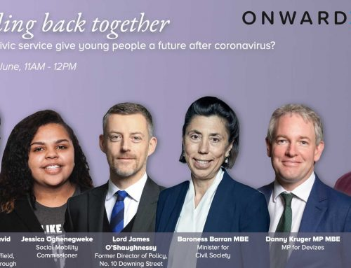 Building back together: How can civic society give young people a future after coronavirus?